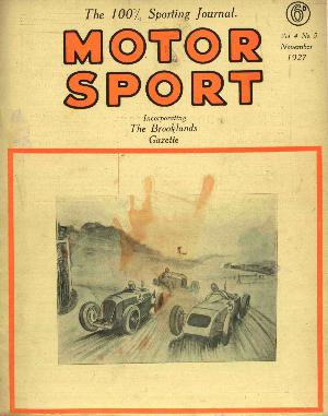 Cover of archive issue November 1927
