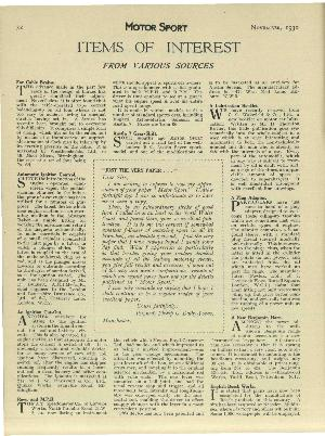 Page 32 of November 1930 archive issue thumbnail