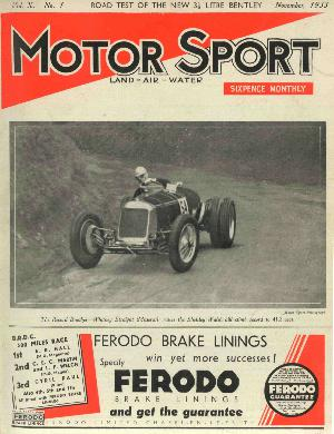 Cover image for November 1933