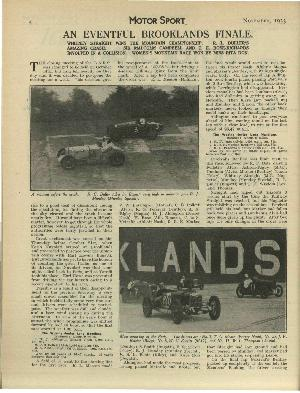 Page 6 of November 1933 archive issue thumbnail