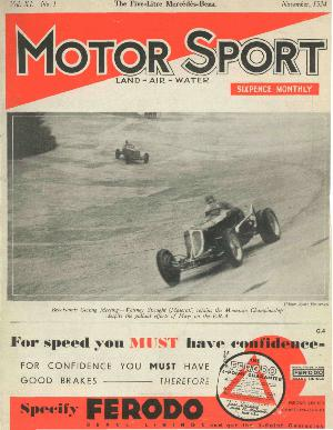 Cover of archive issue November 1934