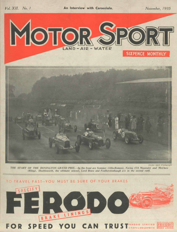 November 1935   Motor Sport Magazine