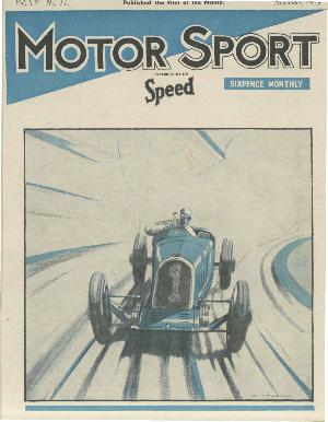 Cover of archive issue November 1939