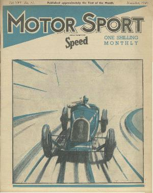 Cover of archive issue November 1940