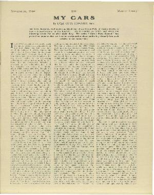 Page 3 of November 1940 archive issue thumbnail