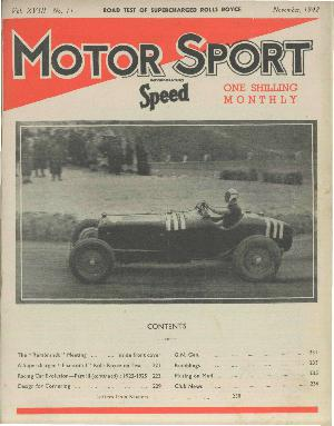 Cover of archive issue November 1942