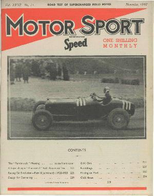 Cover image for November 1942