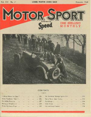 Cover of archive issue November 1944