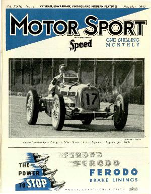 Cover image for November 1947