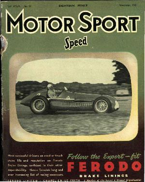 Cover of archive issue November 1951