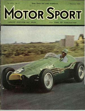 Cover of archive issue November 1954