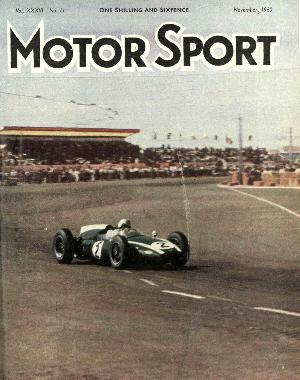 Cover of archive issue November 1960
