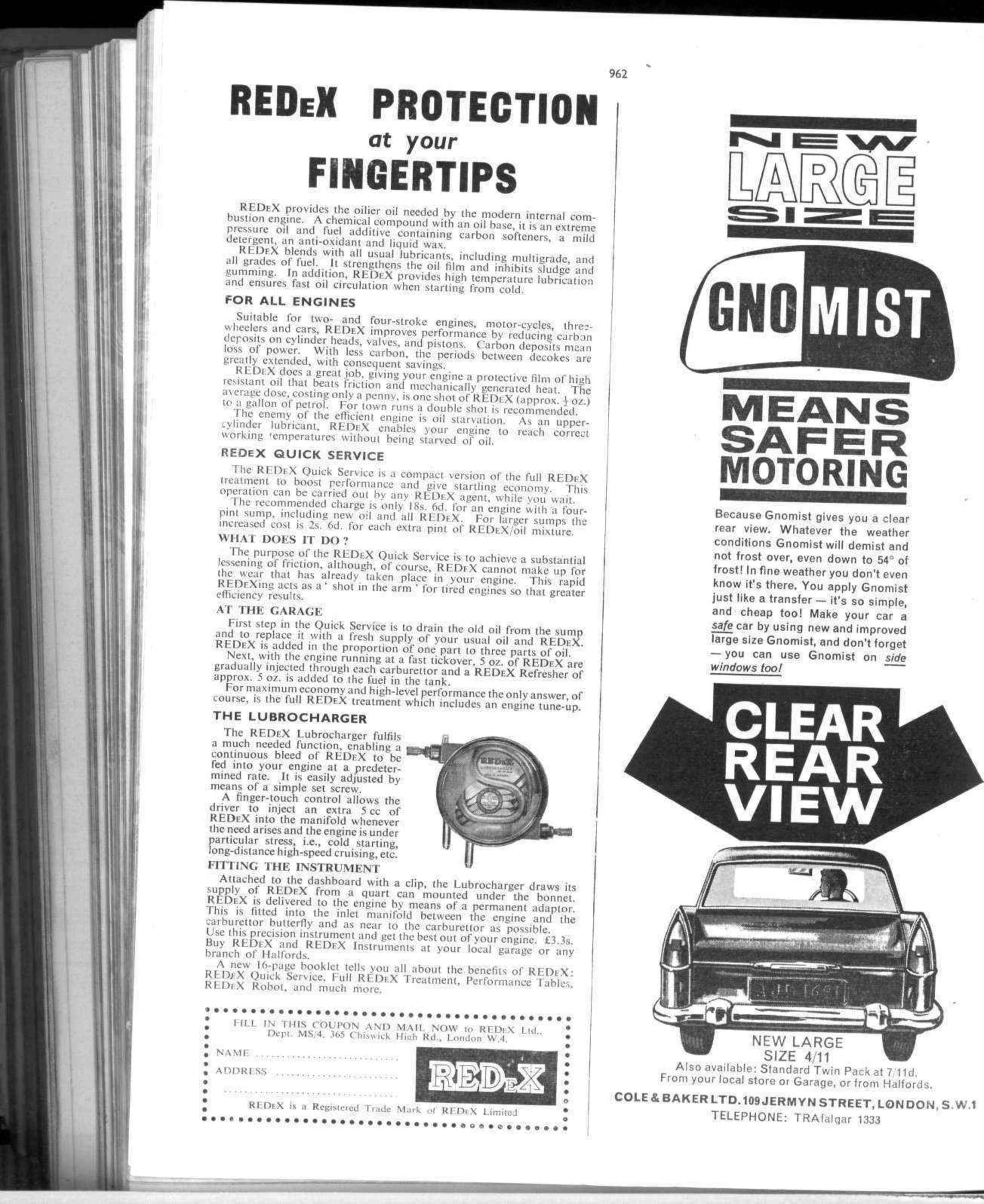 Redex Protection At Your Fingertips Motor Sport Magazine Archive