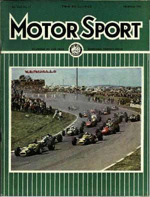 Cover image for November 1967