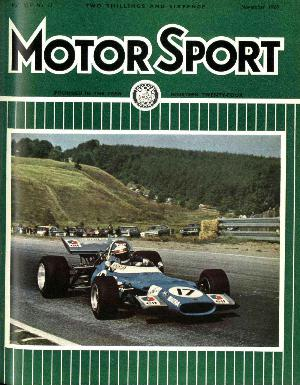 Cover of archive issue November 1969