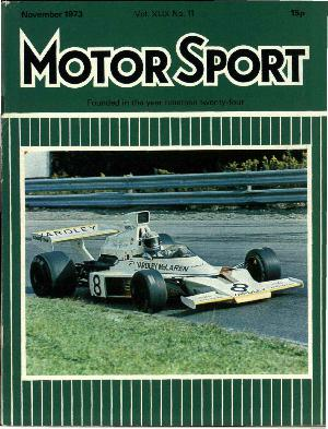 Cover image for November 1973