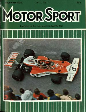 Cover image for November 1974