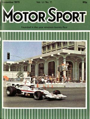 Cover of archive issue November 1975