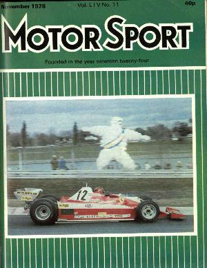 Cover image for November 1978