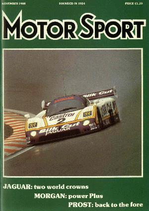 Cover of archive issue November 1988