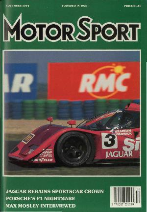 Cover of archive issue November 1991