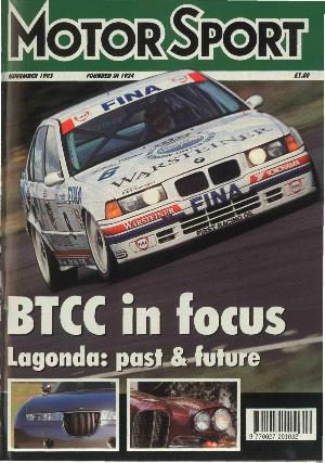 Cover of archive issue November 1993