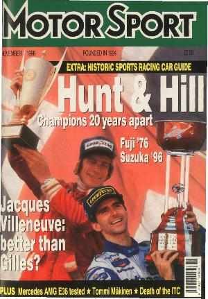 Cover image for November 1996