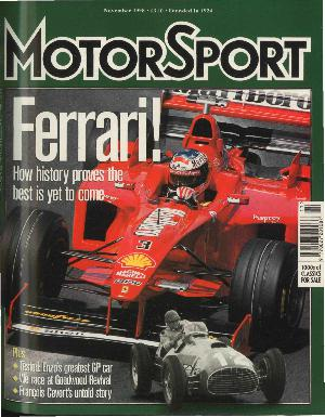 Cover image for November 1998