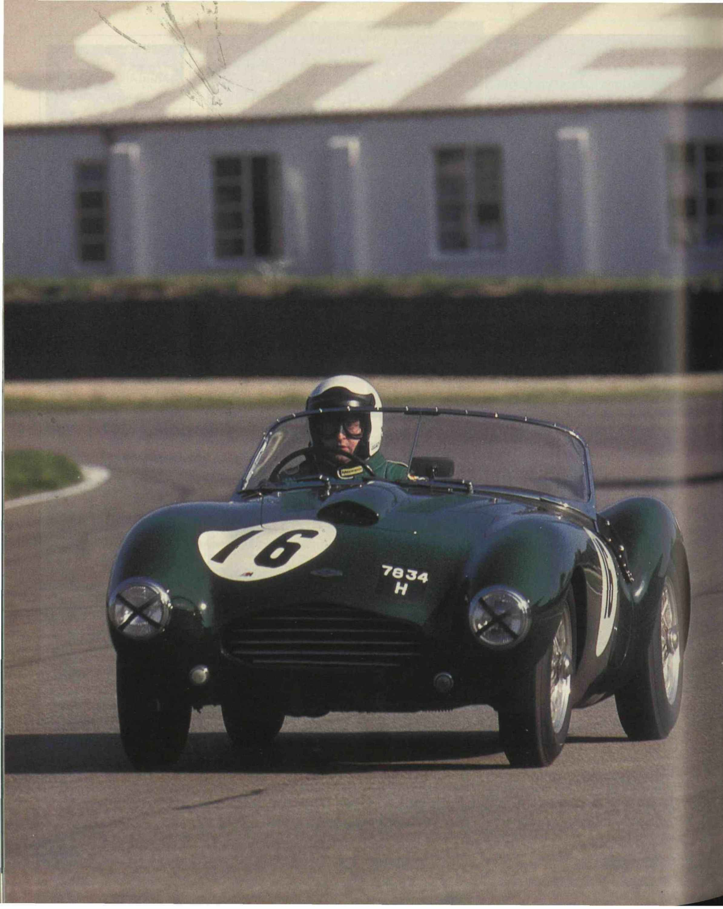 racing at the goodwood revival image