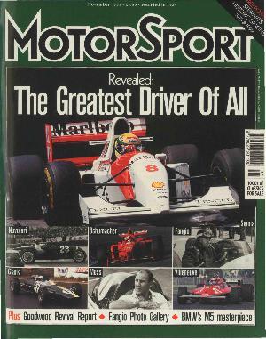 Cover image for November 1999