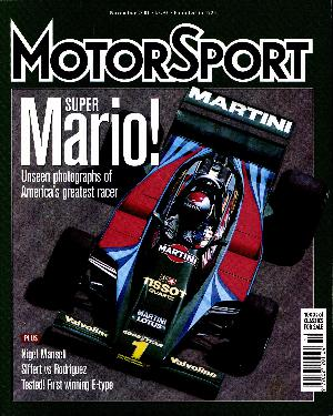 Cover of archive issue November 2001