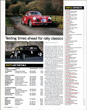 Page 112 of November 2004 archive issue thumbnail