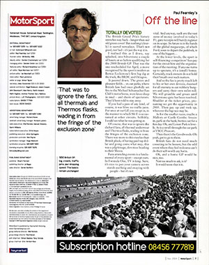 Page 7 of November 2004 archive issue thumbnail