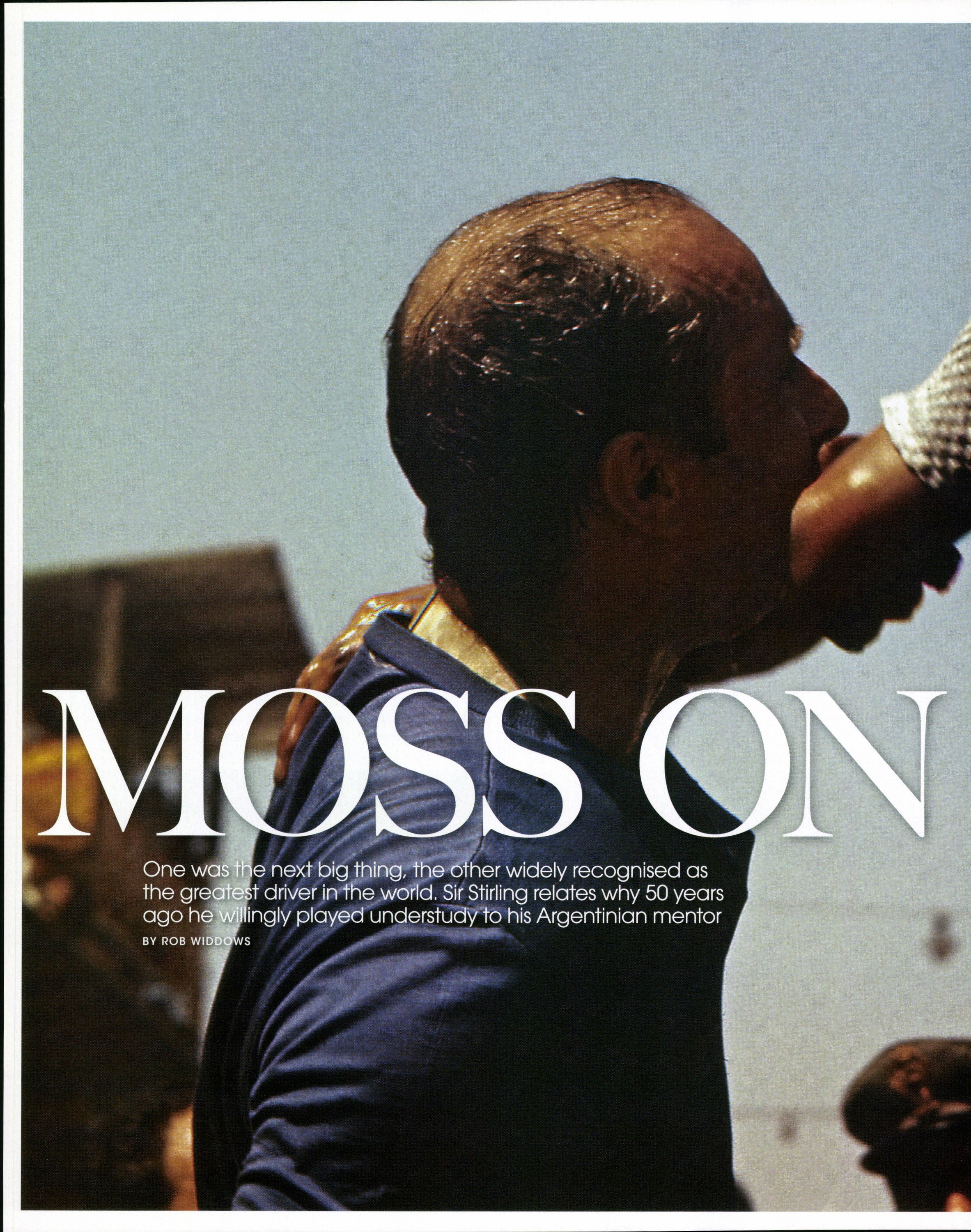 Moss and Fangio image