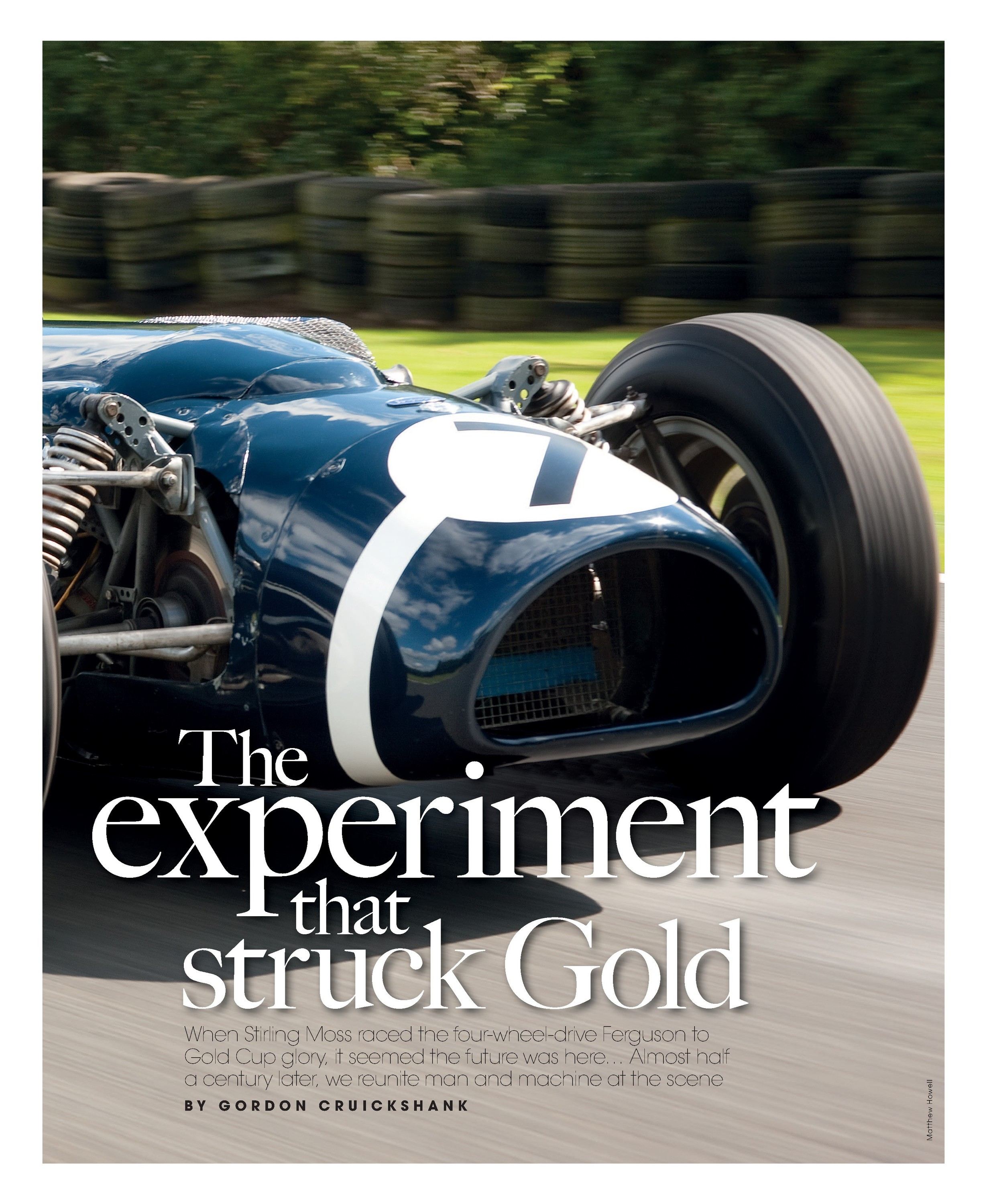 The experiment that struck Gold