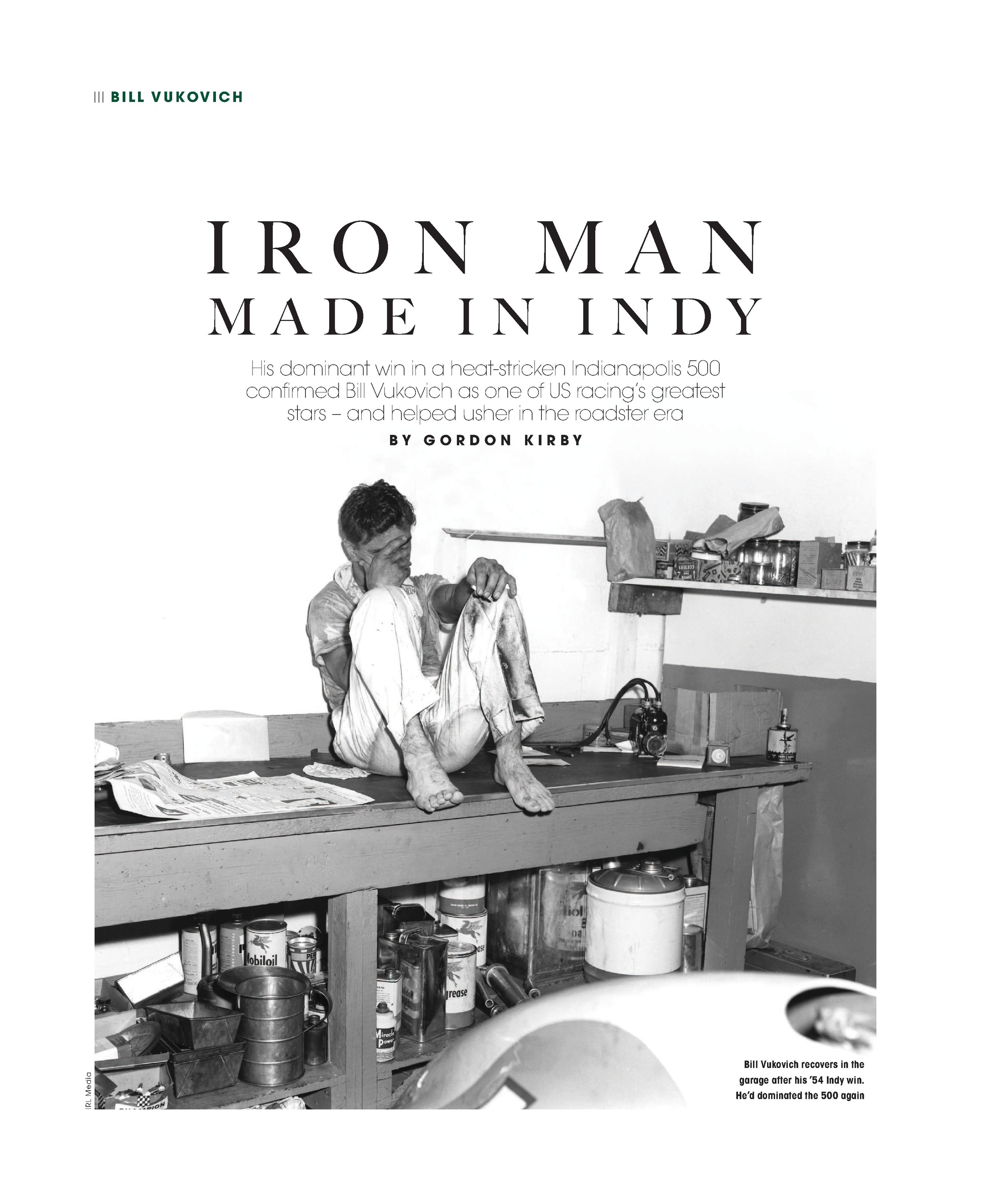 Iron man made in Indy image