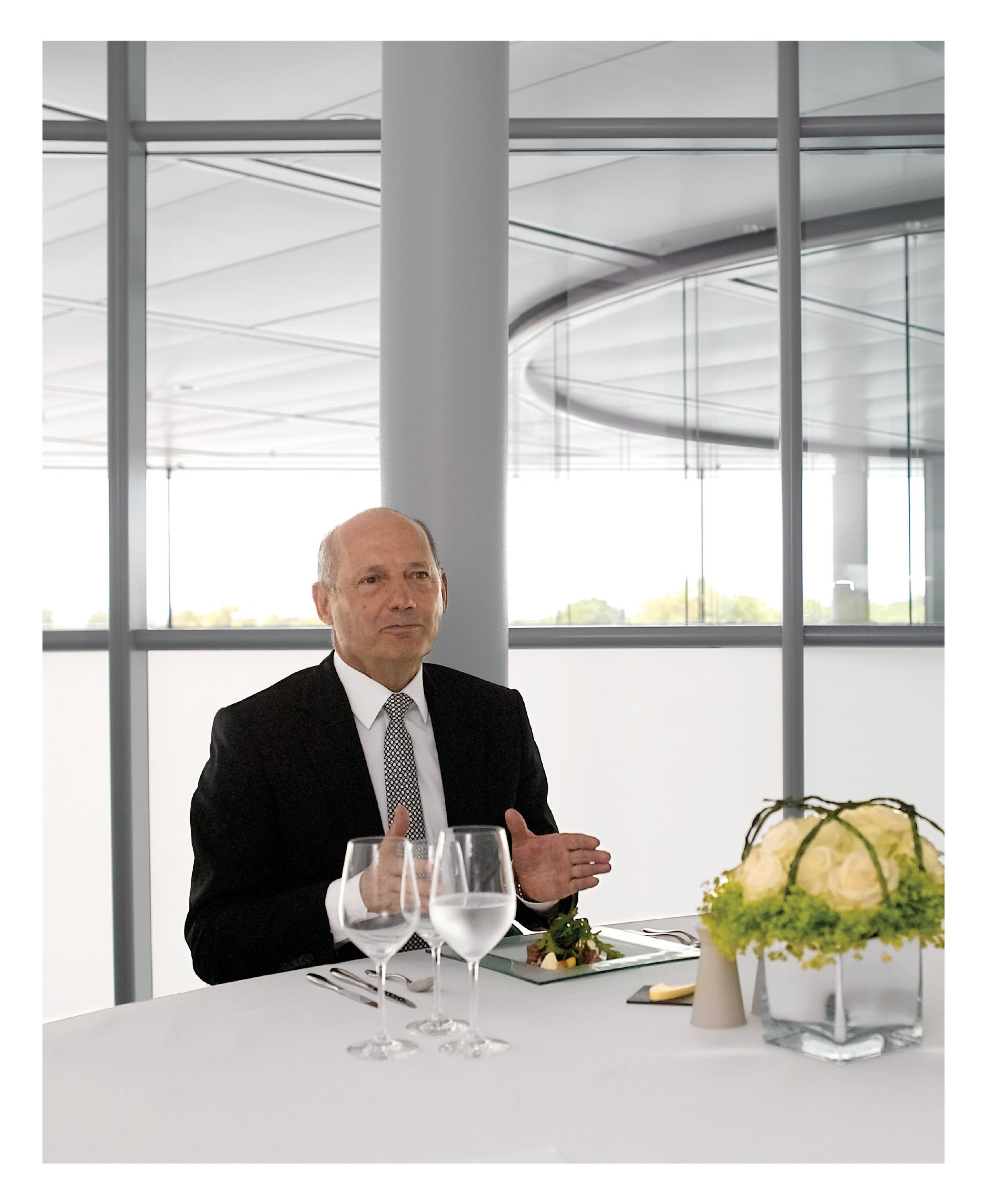 lunch with ron dennis image