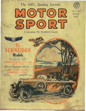 Cover of archive issue October 1927