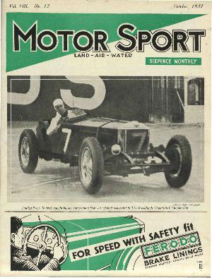 Cover of archive issue October 1932