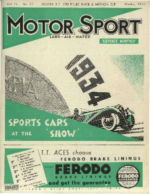 Cover image for October 1933