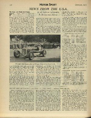 Ralph De Palma Motor Sport Magazine