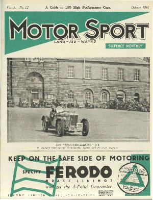 Cover image for October 1934