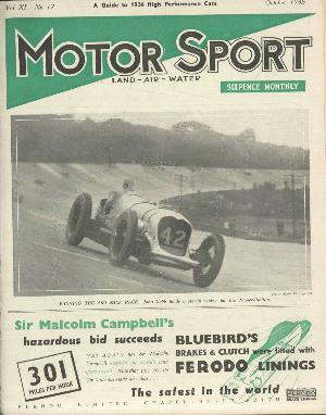 Cover of archive issue October 1935
