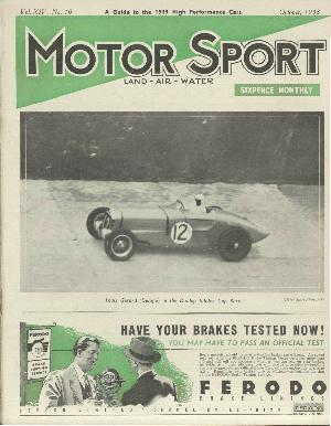 Cover of archive issue October 1938