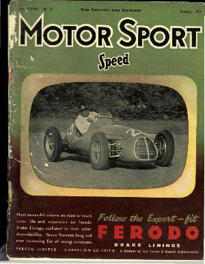 Cover image for October 1952