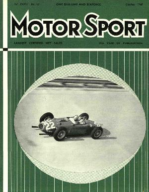 Cover image for October 1960