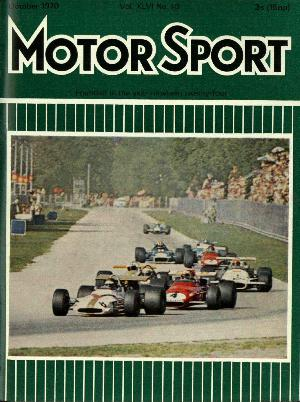 Cover of archive issue October 1970