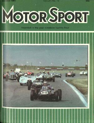 Cover image for October 1981