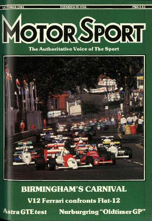 Cover image for October 1987