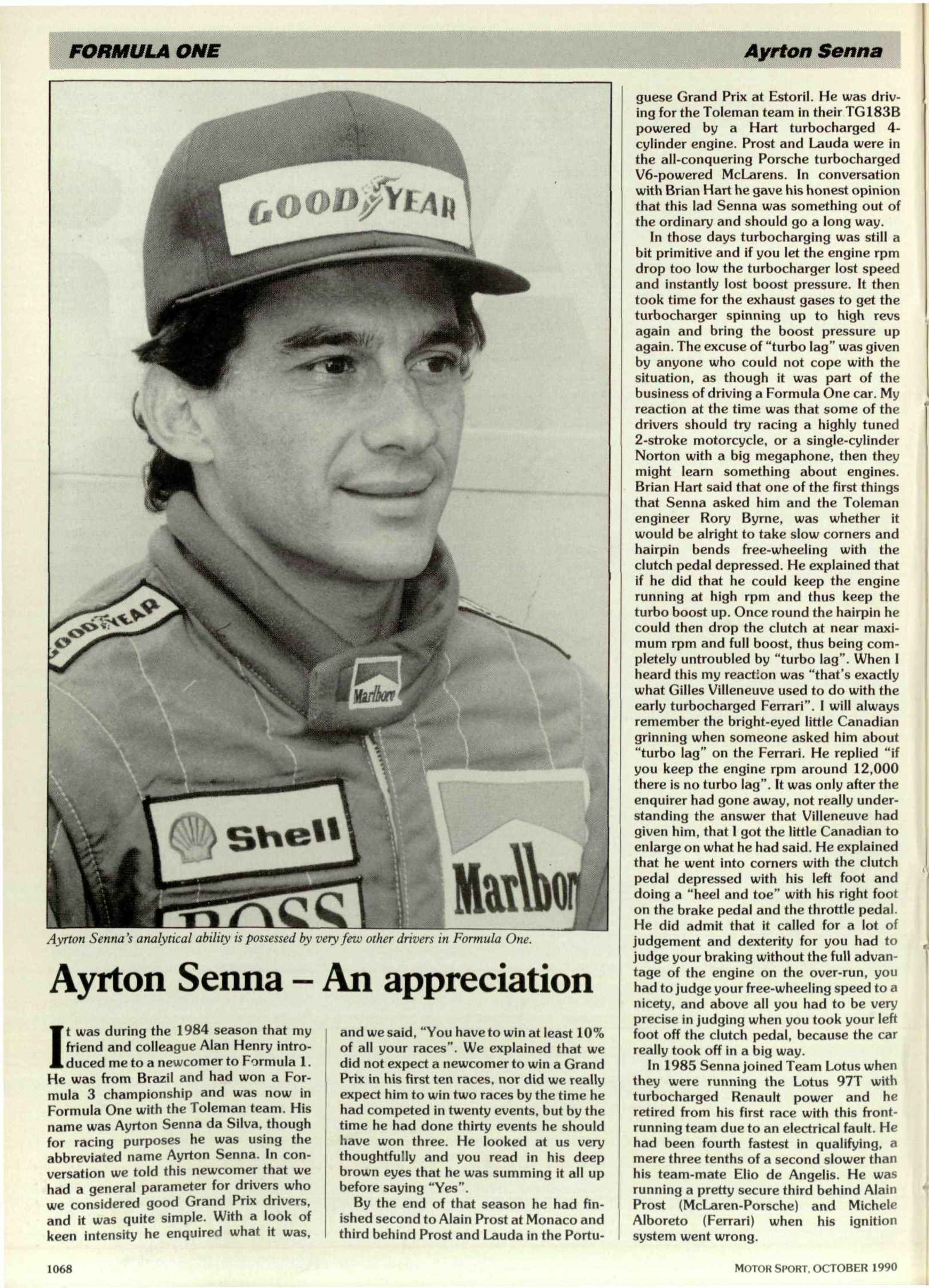 Ayrton Senna   An appreciation image